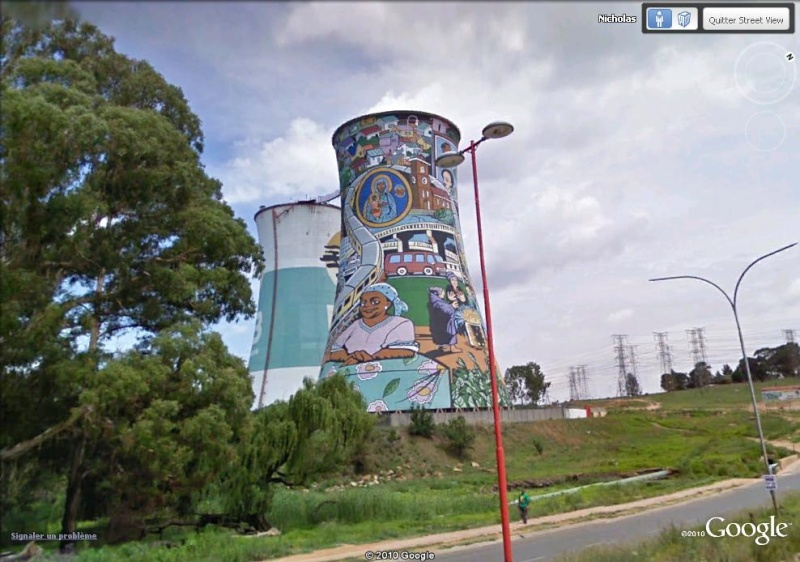 STREET VIEW : les fresques murales - MONDE (hors France) - Page 6 Soweto12