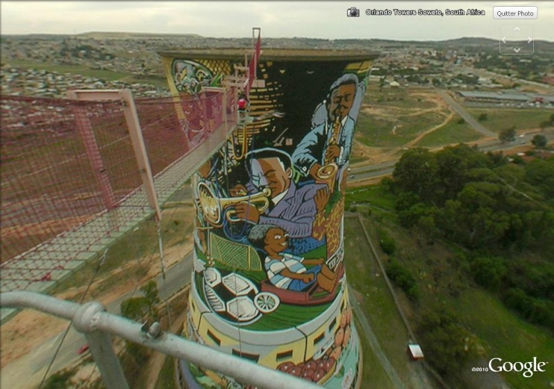 STREET VIEW : les fresques murales - MONDE (hors France) - Page 6 Soweto14