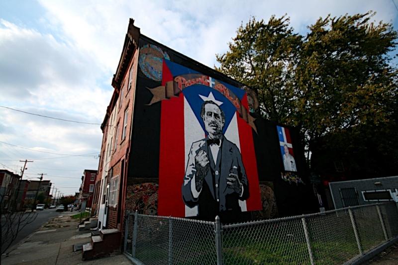 STREETVIEW : les fresques murales de Philadelphie  - Page 2 Vieque10