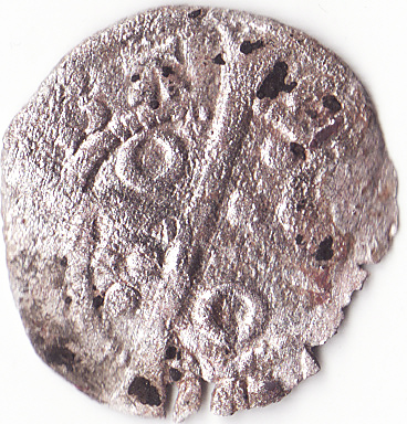 Dinero de Pedro III (Barcelona, 1276-1285) 1-2bcr10