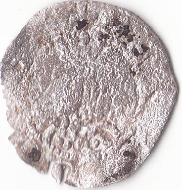 Dinero de Pedro III (Barcelona, 1276-1285) 1-2cro10