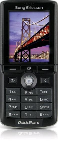 Schematic of Sony Ericson K75010