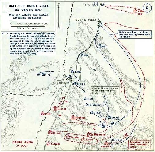 Daguerrotipo de 1847, guerra México-EUA. Battle10