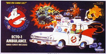 GHOSTBUSTERS the real / SOS Fantome  (Kenner) 1986-1991 Ecto110