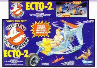 GHOSTBUSTERS the real / SOS Fantome  (Kenner) 1986-1991 Ecto210