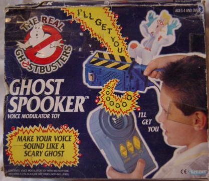 GHOSTBUSTERS the real / SOS Fantome  (Kenner) 1986-1991 Ghost_10