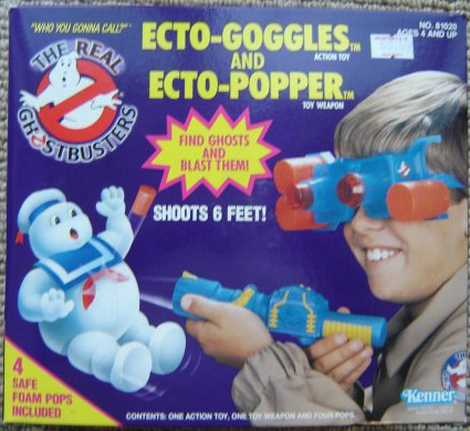 GHOSTBUSTERS the real / SOS Fantome  (Kenner) 1986-1991 Goggle10