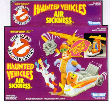GHOSTBUSTERS the real / SOS Fantome  (Kenner) 1986-1991 Haunte11