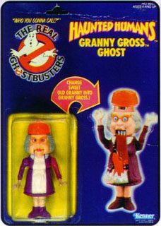 Vintage Real Ghostbusters Ecto 500 Jaune Ghost KENNER FIGURINE ACCESSOIRE