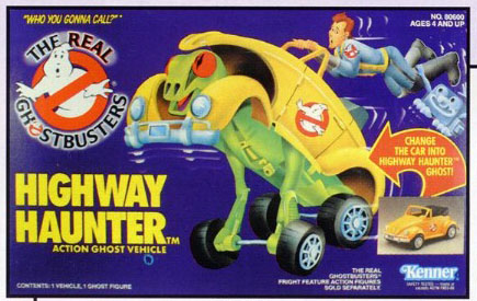GHOSTBUSTERS the real / SOS Fantome  (Kenner) 1986-1991 Highwa10