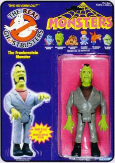 GHOSTBUSTERS the real / SOS Fantome  (Kenner) 1986-1991 Monste11