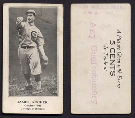 "Mysterious ""Cinderella"" Cards 1911an10"