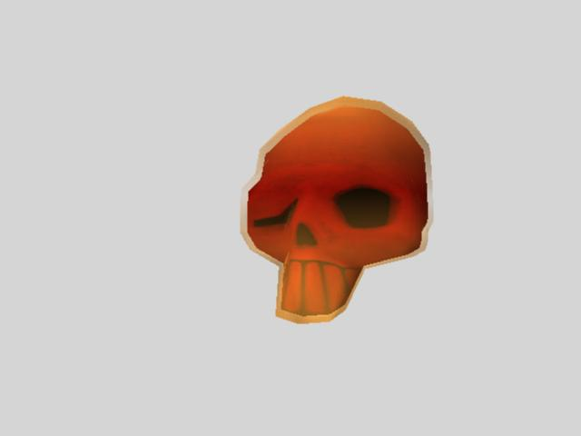 Interactable Art Assets (Throwables) Skull_10
