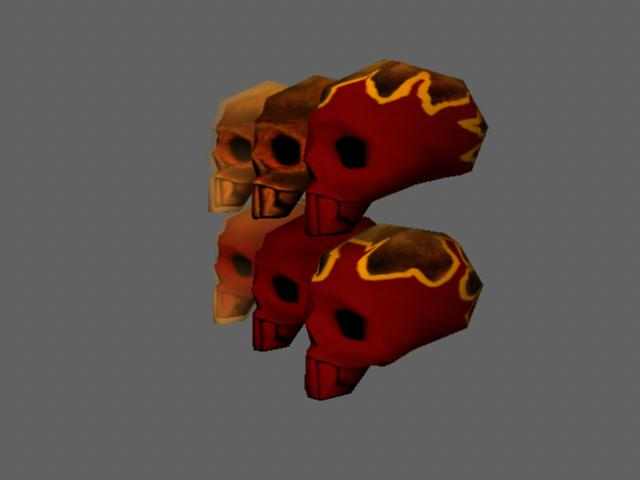 Interactable Art Assets (Throwables) Skullf10