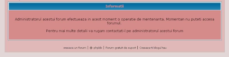 Forum in vacanta / Forum in constructie Mesaj_10