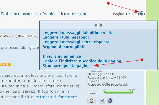 Aggiunta ragione modifiche + versione stampabile topic Stampa10