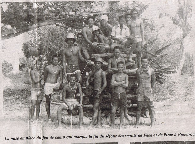 En mission dans les îles : fourrier, scout, charpentier, assembleur soudeur Ccf12011