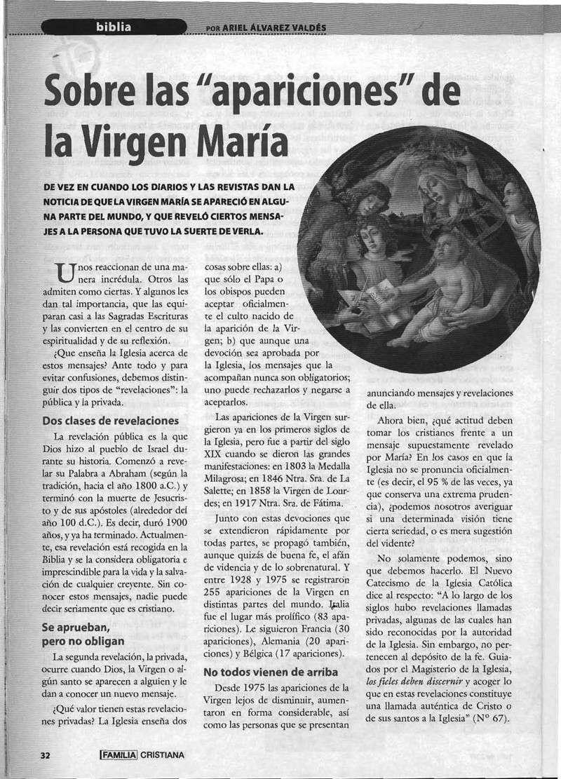 Mensaje de la Virgen en Talavera y relación con las psicos de BSP Virgen11