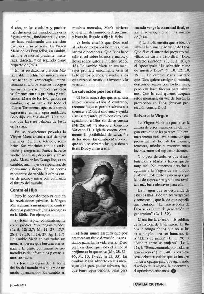 Mensaje de la Virgen en Talavera y relación con las psicos de BSP Virgen15