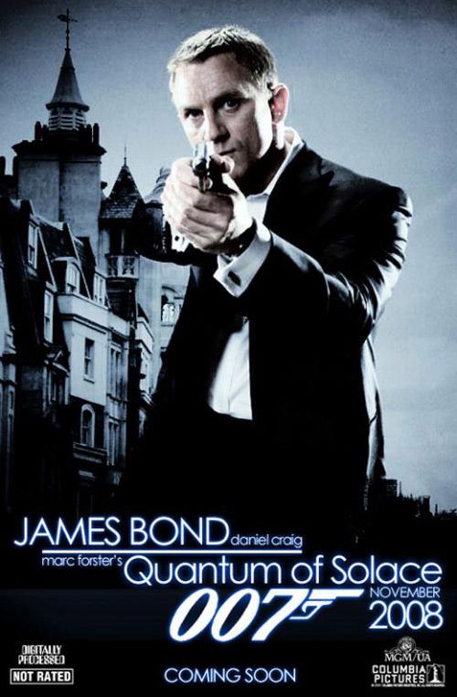 Bond 22 - Quantum of Solace James_11