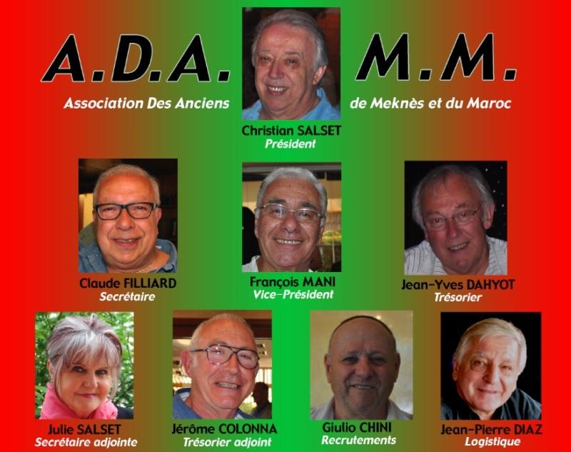 Composition du bureau Directeur de ADAMM Bureau10