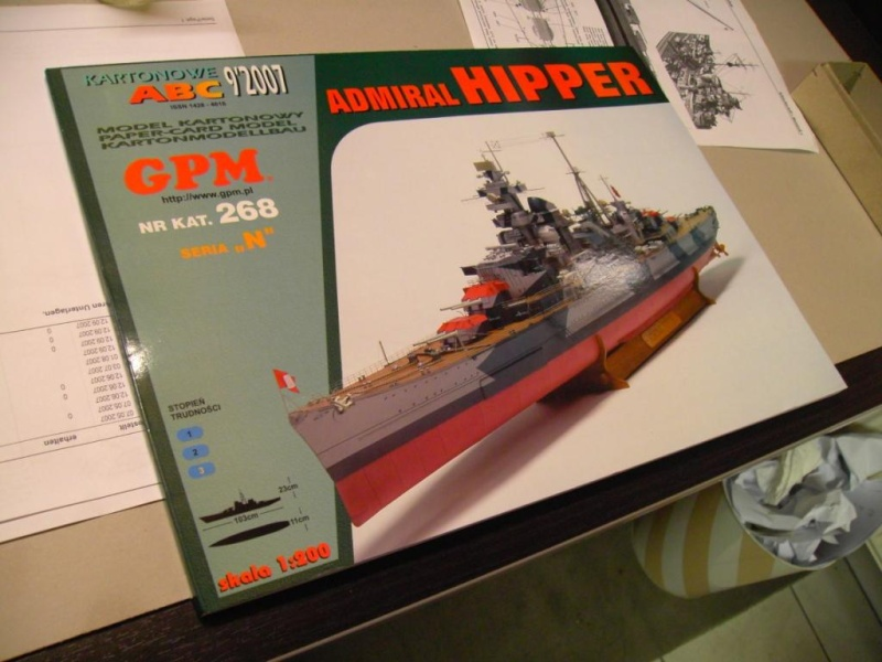 Admiral Hipper 1:200 von GPM Polen Pict2010