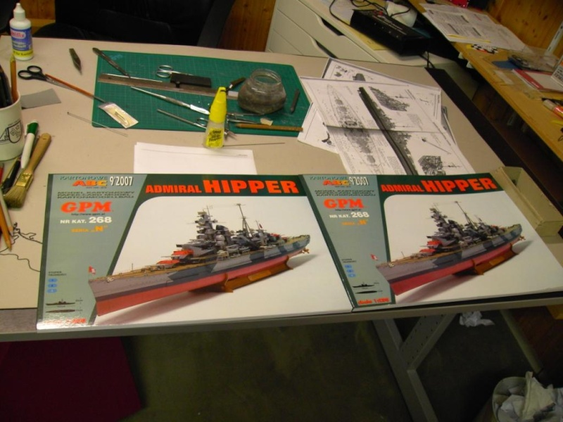 Admiral Hipper 1:200 von GPM Polen Pict2021