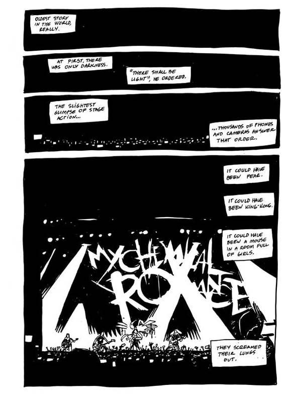 MCR Comic Exclusive Mcrcom10