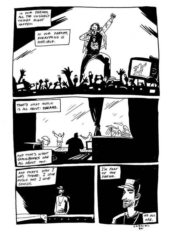 MCR Comic Exclusive Mcrcom13