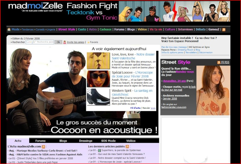 Cocoon - Web Mademo10