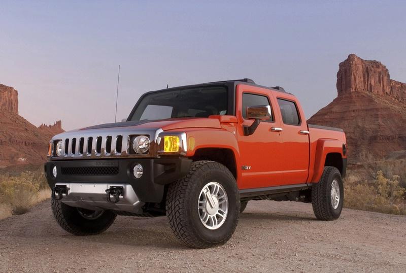 [Hummer] H3 Pickup 90801220