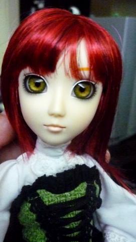 Mes dolls du pays du soleil levant : Hujoo Berry Isaura10