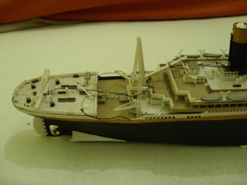 Titanic 1:350 Restauration und umbau zum Rc Modell Titani14