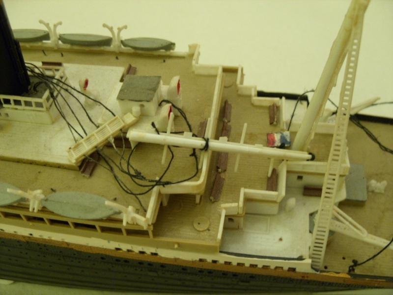Titanic 1:350 Restauration und umbau zum Rc Modell Titani16