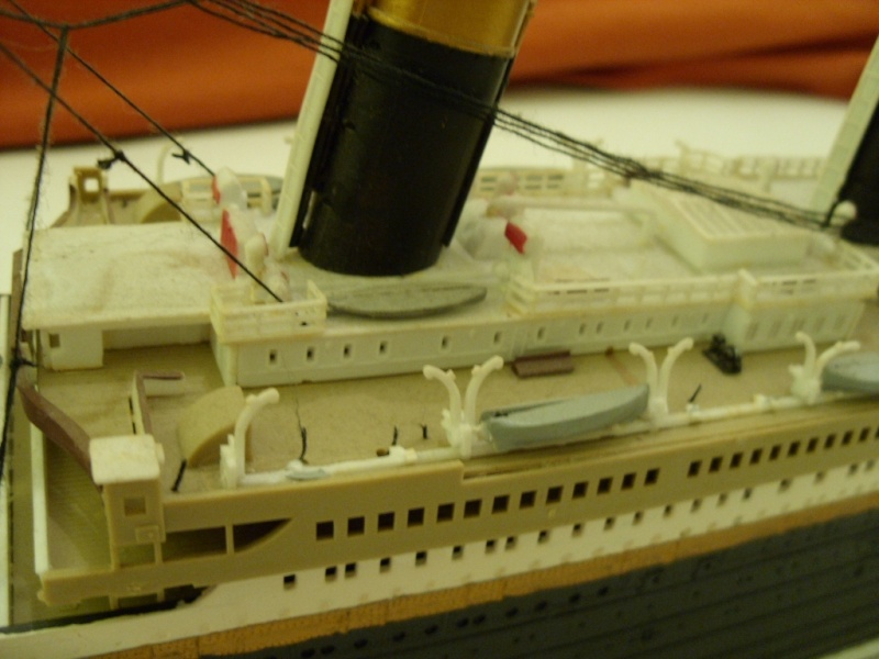 Titanic 1:350 Restauration und umbau zum Rc Modell Titani19