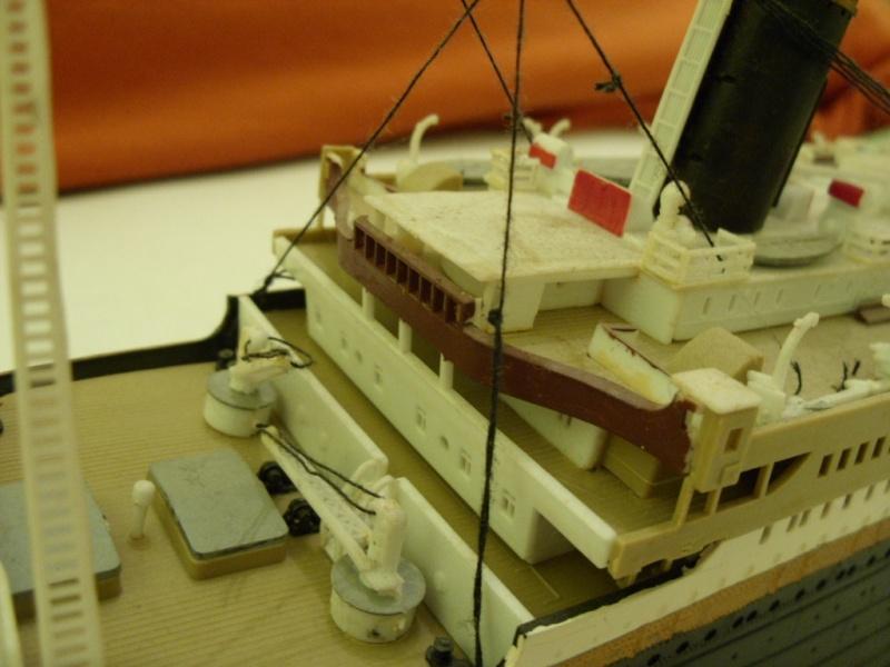 Titanic 1:350 Restauration und umbau zum Rc Modell Titani20