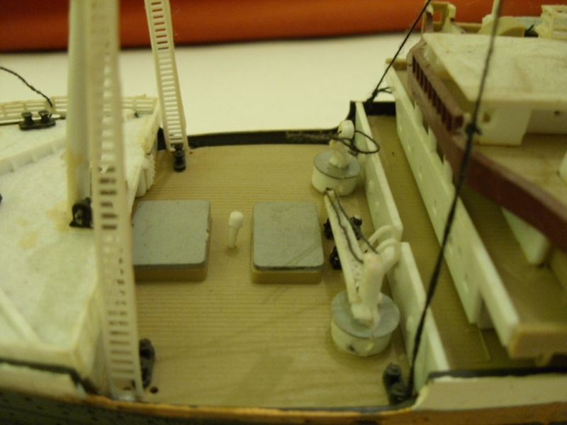 Titanic 1:350 Restauration und umbau zum Rc Modell Titani21