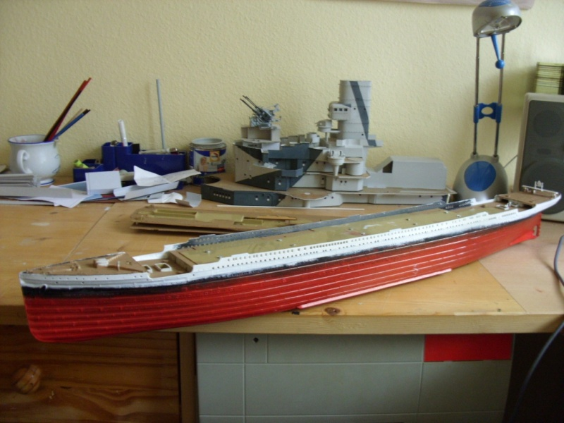 Titanic 1:350 Restauration und umbau zum Rc Modell Titani26