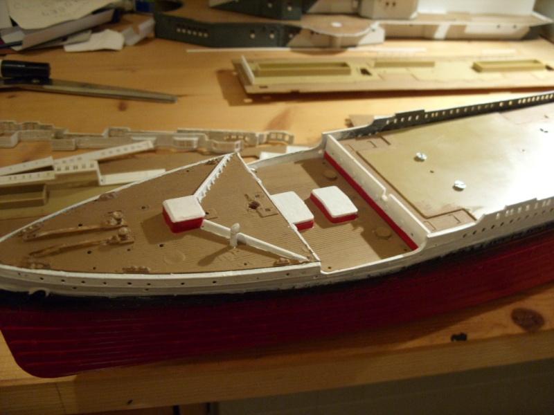 Titanic 1:350 Restauration und umbau zum Rc Modell Titani27
