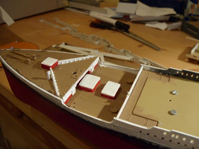 Titanic 1:350 Restauration und umbau zum Rc Modell Titani28