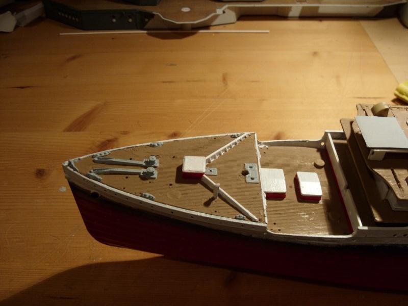 Titanic 1:350 Restauration und umbau zum Rc Modell Titani29