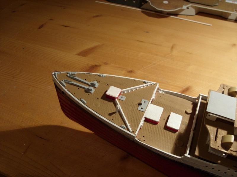 Titanic 1:350 Restauration und umbau zum Rc Modell Titani30