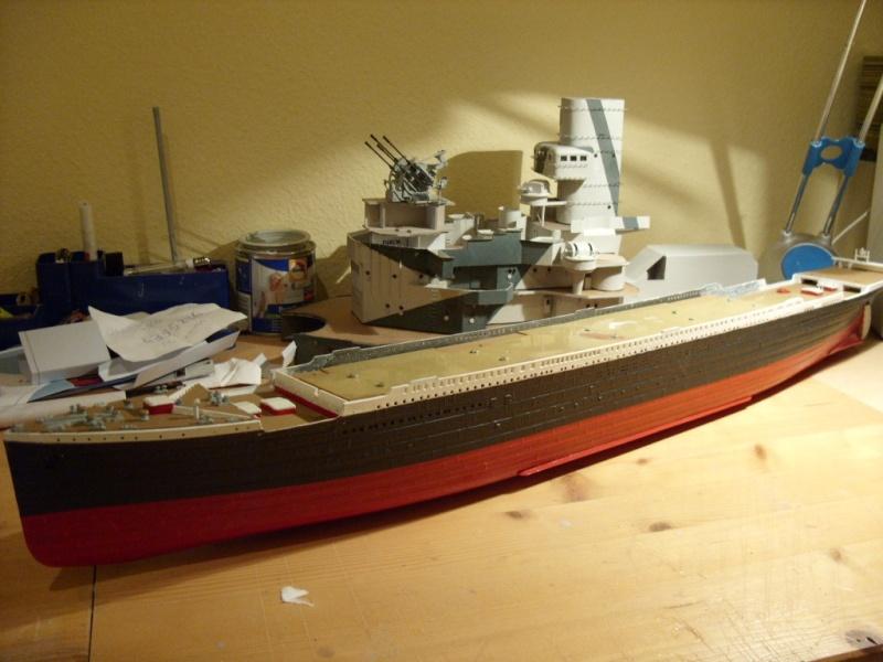 Titanic 1:350 Restauration und umbau zum Rc Modell Titani32