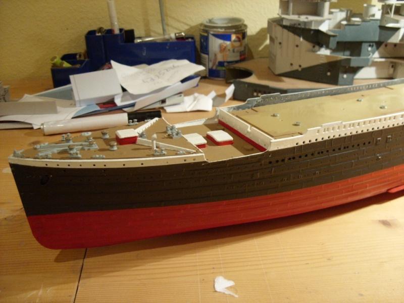 Titanic 1:350 Restauration und umbau zum Rc Modell Titani33
