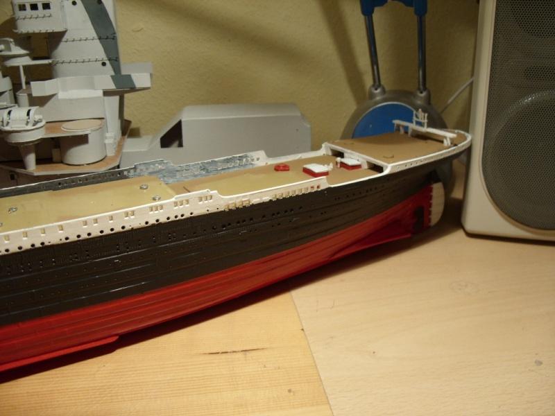 Titanic 1:350 Restauration und umbau zum Rc Modell Titani35