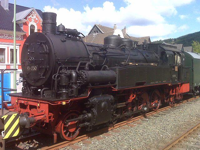Überführung der 93 230 vom VM Dresden zum Museum Dieringhausen 1010