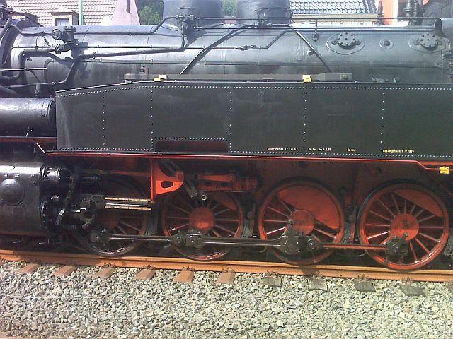 Überführung der 93 230 vom VM Dresden zum Museum Dieringhausen 1110
