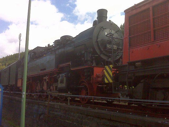 Überführung der 93 230 vom VM Dresden zum Museum Dieringhausen 112