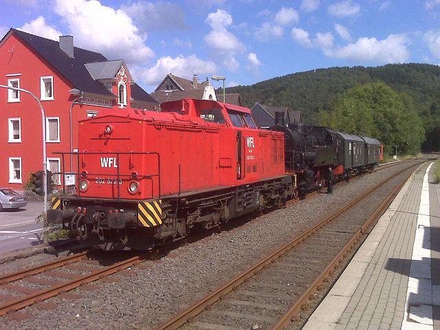 Überführung der 93 230 vom VM Dresden zum Museum Dieringhausen 311