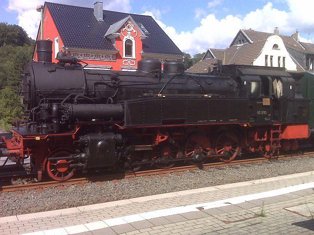 Überführung der 93 230 vom VM Dresden zum Museum Dieringhausen 511